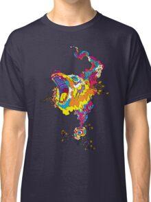 Psychedelic acid bear roar Classic T-Shirt