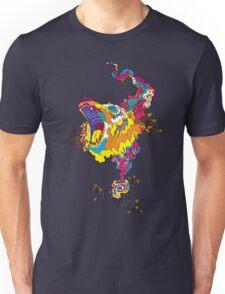 Psychedelic acid bear roar Unisex T-Shirt