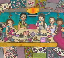 Afternoon Tea by Laura Hutton