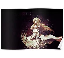 asuna lily beauty Poster