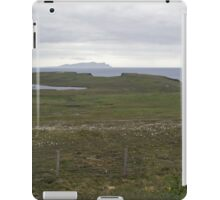 Wats Ness and Foula iPad Case/Skin