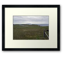 Wats Ness and Foula Framed Print