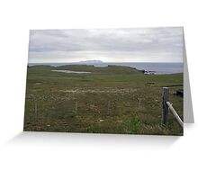 Wats Ness and Foula Greeting Card