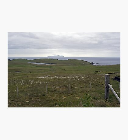 Wats Ness and Foula Photographic Print
