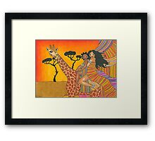 Safari Ride Framed Print