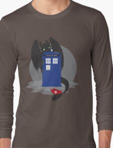 Toothless TARDIS Long Sleeve T-Shirt