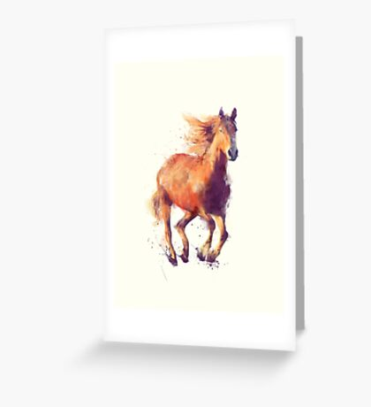 Horse // Boundless Greeting Card