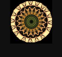 Mandala in the Yellow Round Unisex T-Shirt