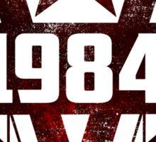 George Orwell 1984 Sticker
