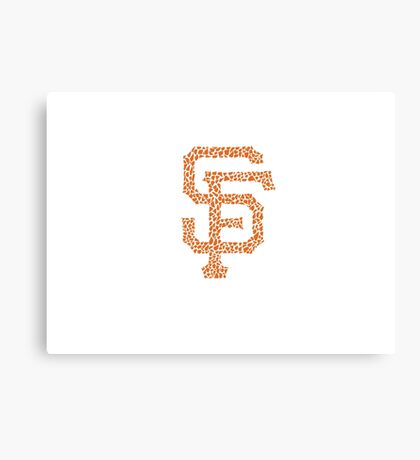 SF Giants Stained Canvas Print