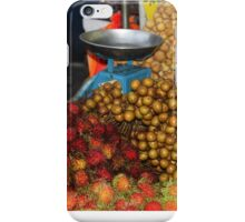 Delicious fruits for sale iPhone Case/Skin