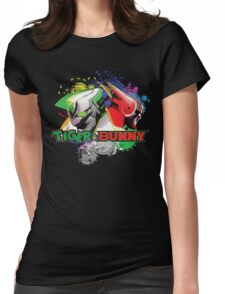 Tiger and bunny helmet Womens Fitted T-Shirt