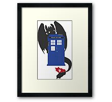 Train Your Doctor Framed Print