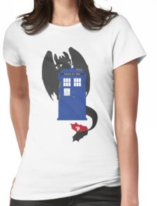 Train Your Doctor Womens Fitted T-Shirt