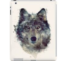Wolf // Persevere iPad Case/Skin