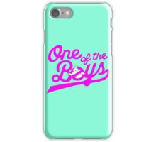 One of the Boys iPhone Case/Skin