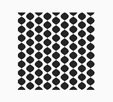 Eames Era Retro 60s Waves Pattern  (90% Grey) Unisex T-Shirt