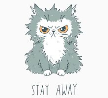 Stay Away Womens Fitted T-Shirt
