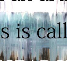 Funny Artist quote Sticker