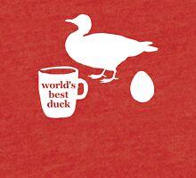 World's Best Duck Tri-blend T-Shirt