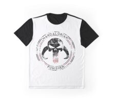Mandalorian Punisher Graphic T-Shirt