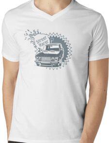 Custom Street Racers Car Mens V-Neck T-Shirt