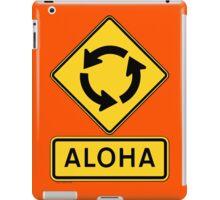 Aloha Circle Sign Design iPad Case/Skin