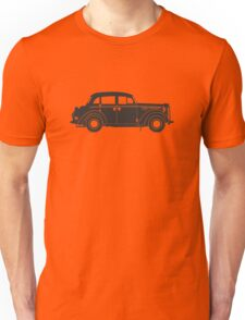 Retro car silhouette Unisex T-Shirt