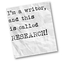 Writer funny quote Photographic Print