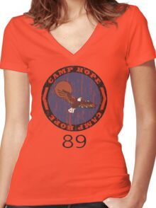 Heavyweights - Camp Hope 89 Women's Fitted V-Neck T-Shirt