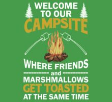 Welcome To Our Campsite One Piece - Short Sleeve