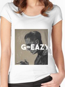 G-Eazy Painting Women's Fitted Scoop T-Shirt