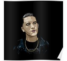 G Eazy Vector Poster