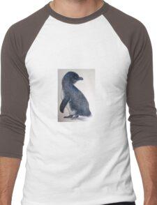 Little Penguin 1 Men's Baseball ¾ T-Shirt