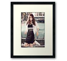 girls generation yoona Framed Print