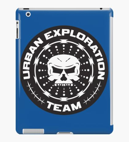 TEAM URBAN EXPLORATION iPad Case/Skin