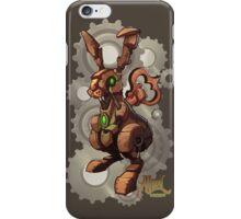 Steampunk White Rabbit iPhone Case/Skin