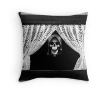 Death will come to us all Throw Pillow