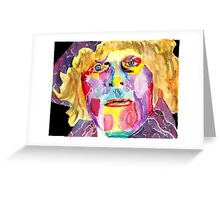 Fourth Doctor  / Tom Baker Greeting Card
