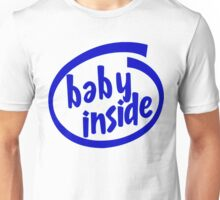 Baby Inside Cool Pregnancy Unisex T-Shirt