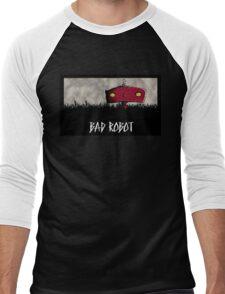 Bad Robot Lost Alcatraz Revolution Film CHARCOAL Men's Baseball ¾ T-Shirt