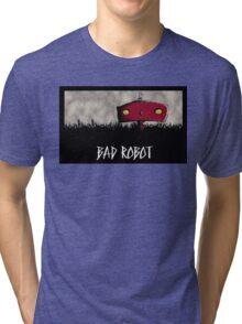 Bad Robot Lost Alcatraz Revolution Film CHARCOAL Tri-blend T-Shirt