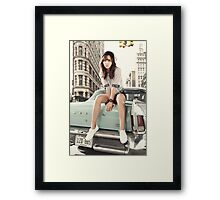 girls generation yuri Framed Print