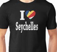 I Love Seychelles Flag t-shirt Unisex T-Shirt