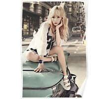 girls generation taeyeon Poster