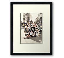girls generation Framed Print