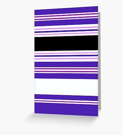 Stripe It In Balance Greeting Card
