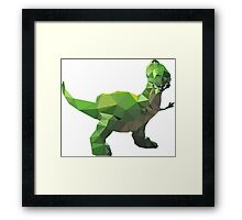 Rex - Toy Story Themed T-Shirt Framed Print