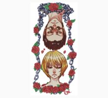 Chains of Roses Keep Us by nickleerie
