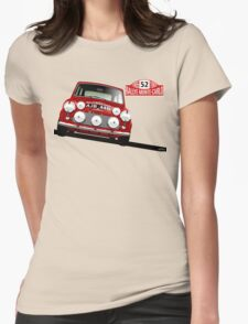 1965 Rallye Monte Carlo winner Womens Fitted T-Shirt